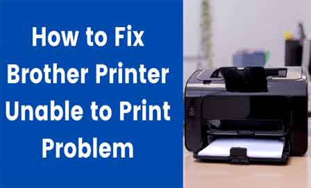 Brother Printer Unable to Printing 1