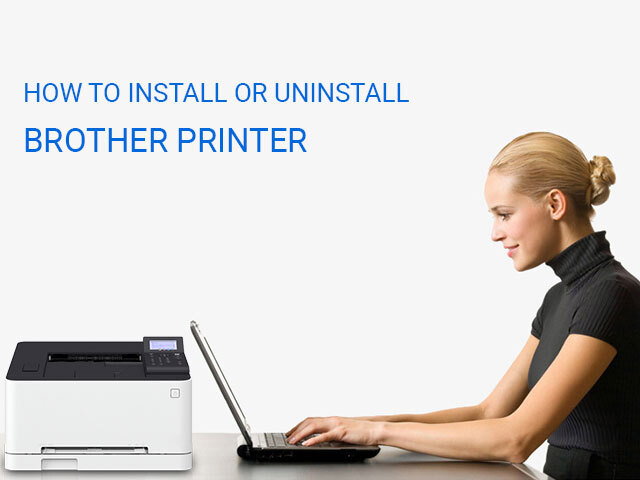 How to Install or Uninstall Brother Printer 1